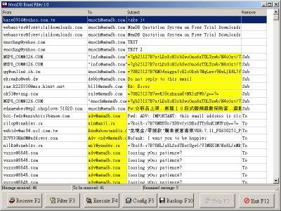 MemDB Email  Filter